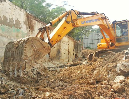 Professionnel de demolition pour les particuliers
