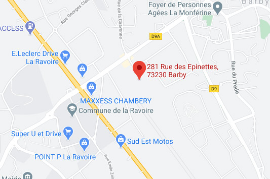 Construction piscines chambery trouver ATP Services sur google